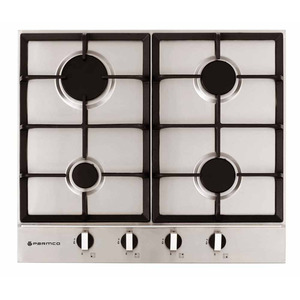 Hob 600mm 4x Gas Stainless Steel