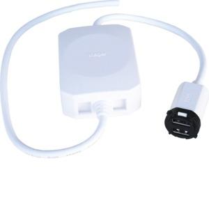 Silhouette Mech USB 2 x 2.1A Matt Black