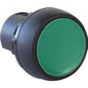 ALB 800F PBUTTON PLASTIC FLUSH GREEN