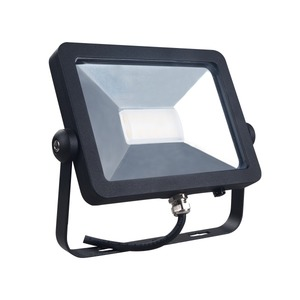 HAL EXT LED FLOOD IP65 20W 240V NW BLACK