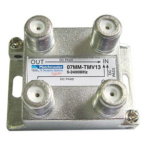 Splitter 3-Way 5-2400 F-Type Vertical All PPP