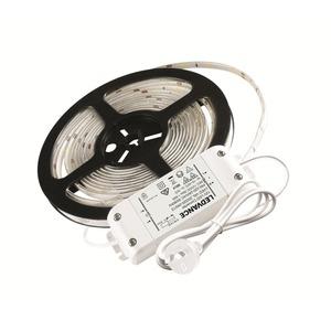 LED FLEX STRIP KIT 20W 840 C/W FLEX PLUG & TRANSFORMER 5M