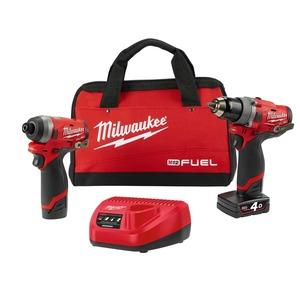 M12 Fuel Hammer Drill 13mm & Impact Driver 6mm Kit