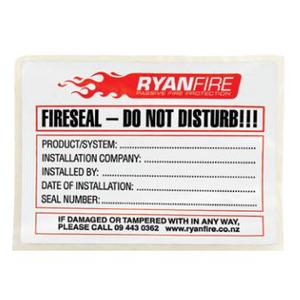 Firetherm Identification Label