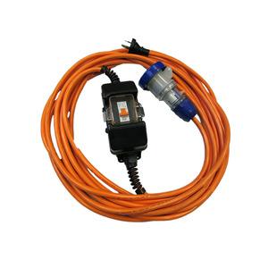 Campsafe Caravan Power Supply Adaptor 10m lead IP44