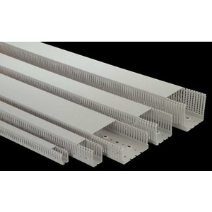 PVC Duct 4mm Slot 25 x 40mm 2m