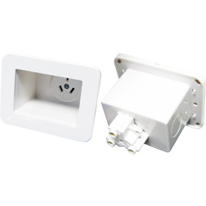 CDY RECESSED SINGLE POWER OUTLET