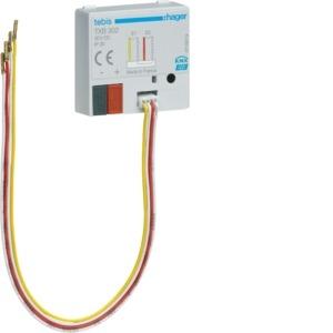 Binary input 2 fold, flush mounted, KNX