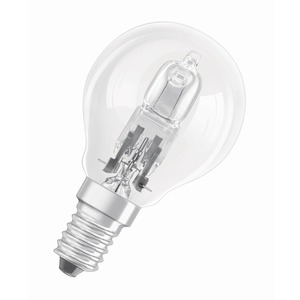 Lamp Halogen Classic P Eco Lustre 30W 240V E14 SES Clear