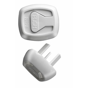 HPM D1002/1 CHILD SAFETY PLUGS (12PKT)