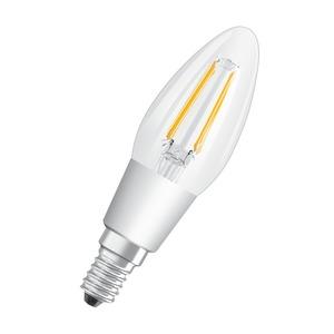 LAMP LED STAR CANDLE FIL GLOW DIM B40 5W 827 E14 SES CLEAR