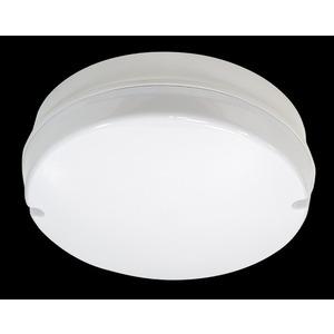 Trojan Galaxy Bulkhead Rnd LED 15W 4K Emergency White/Opal