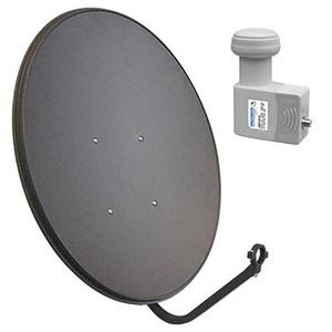 Satellite Dish 80cm Digimatch with 10 750 Lo LNB