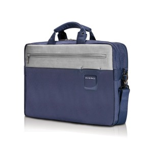 Contempro Commuter Laptop Briefcase 15.6in Navy