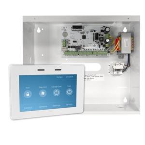 Elitecontrol Panel In Metal Cabinet & Kp-Touch-W Keypad