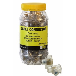 Connector 40A 6mm 1Screw (Jar100)