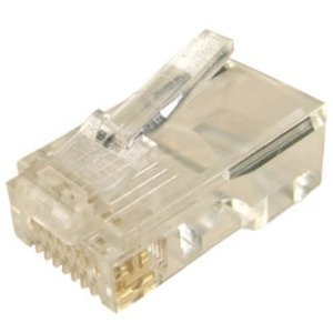 CDY PLUG RJ-45 SOLID ROUND SINGLE (BAG 20)