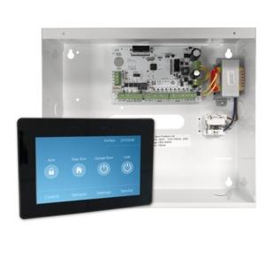 Elitecontrol Panel In Metal Cabinet & Kp-Touch-B Keypad