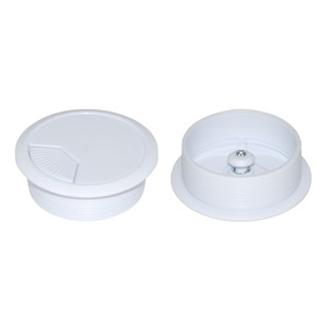 CDY DESK GROMMET 60MM WHITE