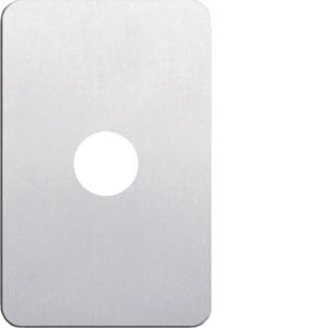 Silhouette Cover Plate LP 1 Gang Vertical Aluminium