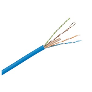 Cable Cat6 4pr U/UTP PVC Blue (305m)