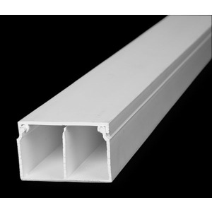 MAR TRUNKING MINI 40X25MMX3M TWIN COMPARTMENT WHITE