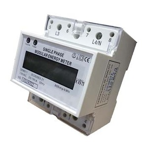 Kilowatt Hour Meter 1Phase 80A 230V Electronic