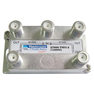 Splitter 4-Way 5-2400 F-Type Vertical All PPP