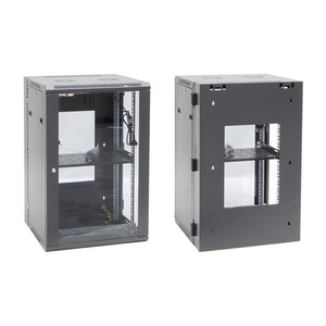 CDY WALL MOUNT CABINET 18RU W/BACKMOUNT 600X550X901MM