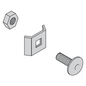Acrofil AF50 Clip and Nut Connector Kit (Pkt10)