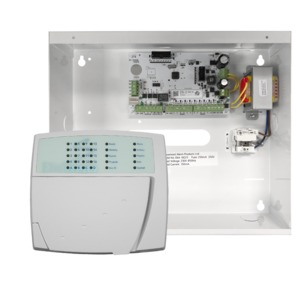 Elitecontrol Panel In Metal Cabinet & E16led Keypad