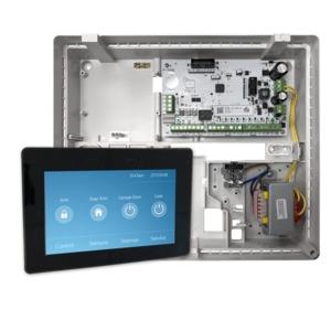Elitecontrol Panel In Plastic Cabinet & Kp-Touch-B Keypad