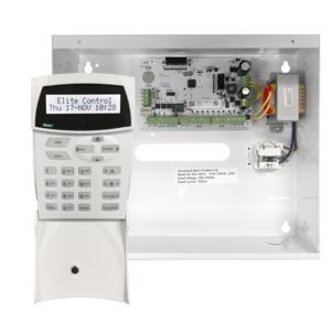 Elitecontrol Panel In Metal Cabinet & Kp-LCD-ST7 OEM Keypad