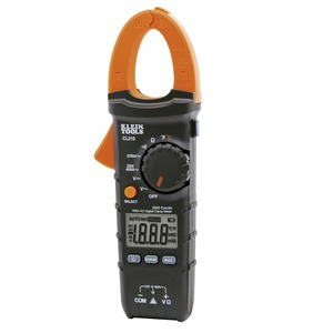 Clamp Meter CL210 400A AC with Temp 1Mt Cat III Digital