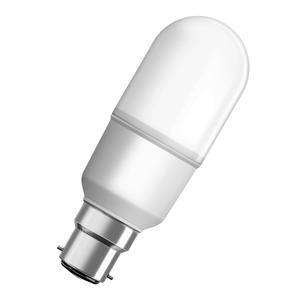 LAMP LED STICK 12W B22 BC 840 230V FROSTED DIM