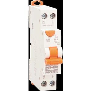 MOD6 RCBO 6kA 1P+N 20A C 30mA Type A Switch Neutral