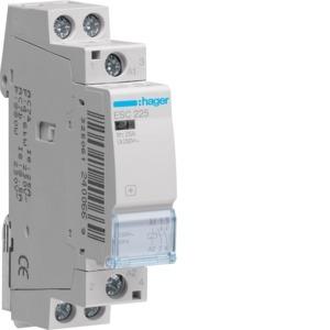 Contactor 2P 2N/O 25A 250VAC Series II