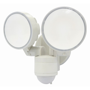 SensorLED Max Floodlight 2x 8W White IP44