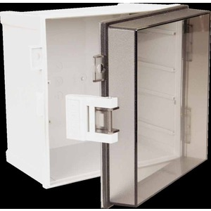 Cabinet CAB ABS T3B 150 x 150 x 110mm Latched Clear