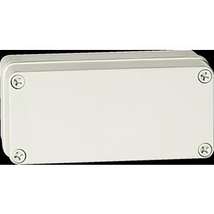 Piccolo PC D65PG Encl 170 x 80 x 65mm Grey No Tray 87-31444
