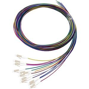 Fibre Pigtail LC MM OM1 2m Pkt12