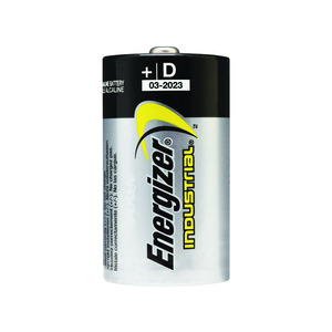 Battery Alkaline D Size Industrial 12Pk