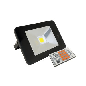 Floodlight LED 20W 4k Sensor Black IP65