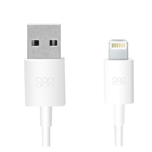 PROMATE USB-LIGHTNING CHARGE & SYNC CABLE 1.2M WH