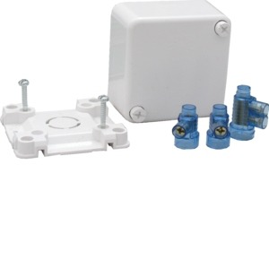 Hagerblu Junction Box C/W 3 Connectors