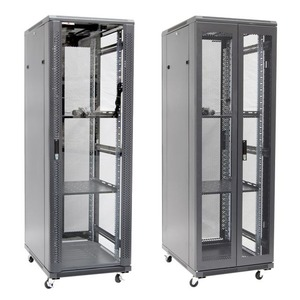 Server Cabinet 37RU 600 x 800 x 1833mm 2x Shelf 2x Fans