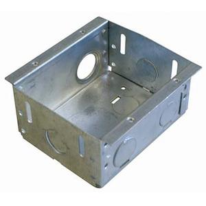 Flush Box Metal Double ZP