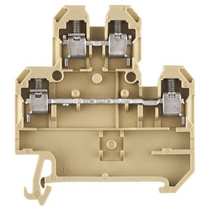 DK4Q/35 Screw Terminal 4mm 2 Tier Polyamide