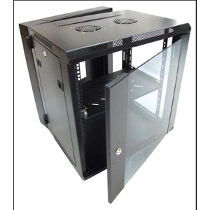 CDY WALL MOUNT CABINET 12RU W/BACKMOUNT 600X550X635MM