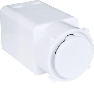 Pushbutton Mech 5A Electronic Slave White